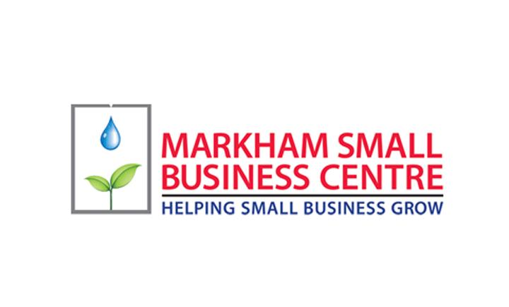 Markham Small Business Centre logo techconnex sponsor